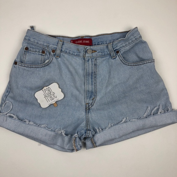 Levi's Pants - Levi's Classic Double Butt Ripped Jean Shorts